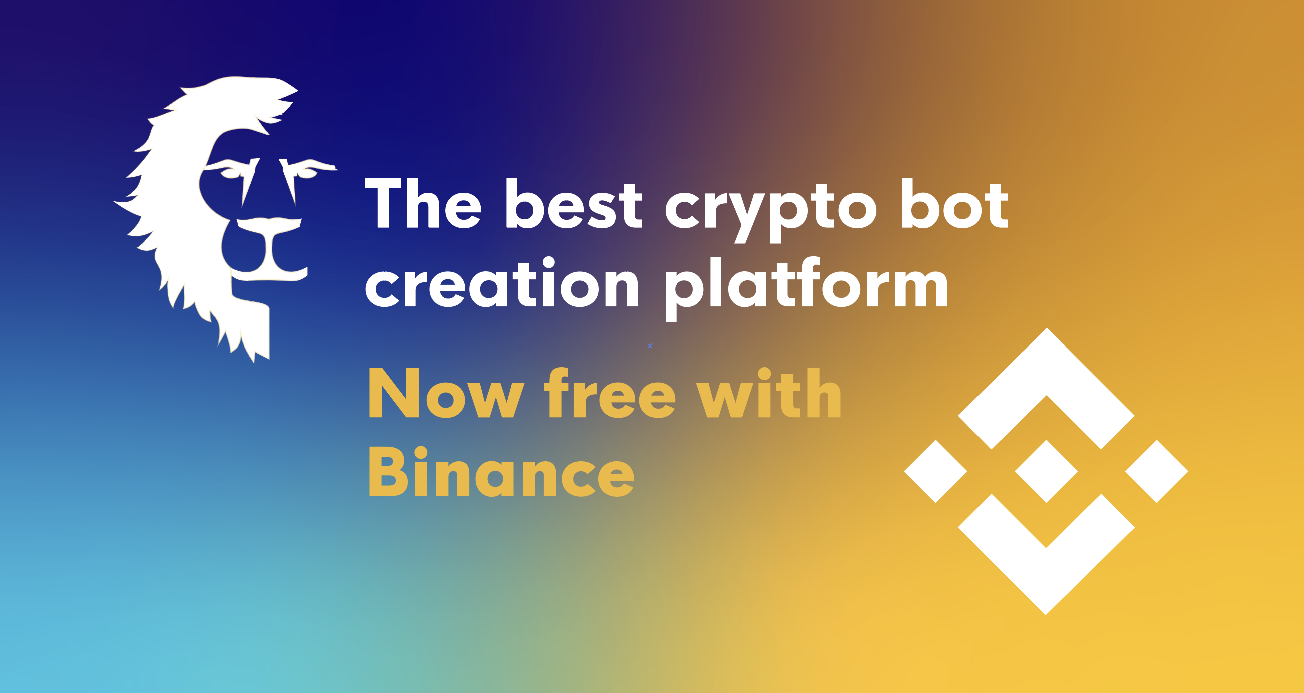 The best crypto bot creation platform