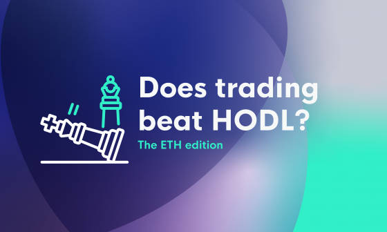 Does trading beat HODL? The ETH edition