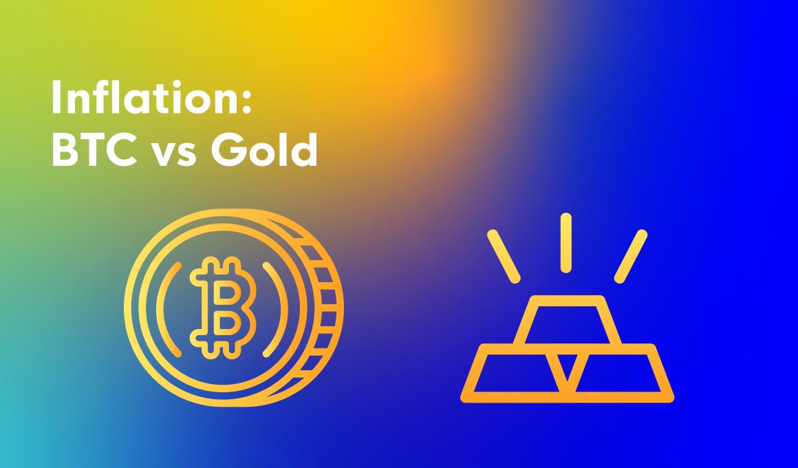 Inflation:BTC vs Gold