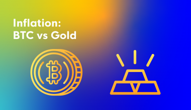 Inflation:BTC vs Gold