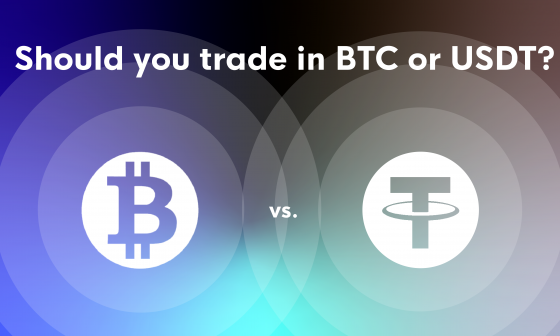 Trading altcoins in BTC or USDT?